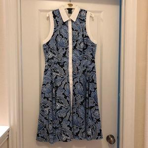 NWT Size 6 Paisley Pattern Ann Taylor Dress